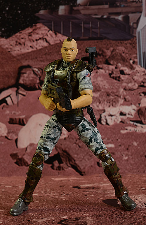 Aliens Colonial Marines Hicks, Hudson, Quintero, Power Loader action figure by Hiya