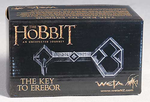 The Hobbit Key to Erebor prop replica by Weta