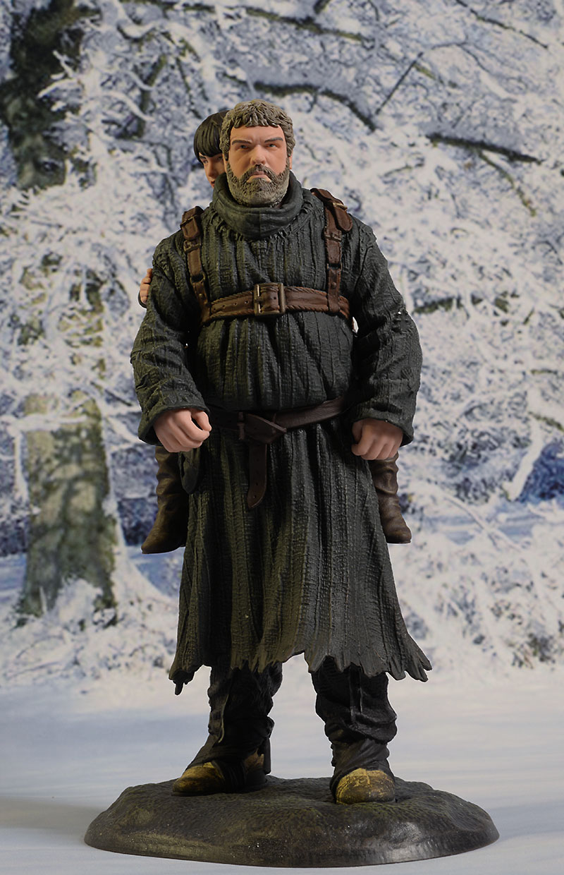 Game of Thrones Hodor, Bran statue by Dark Horse