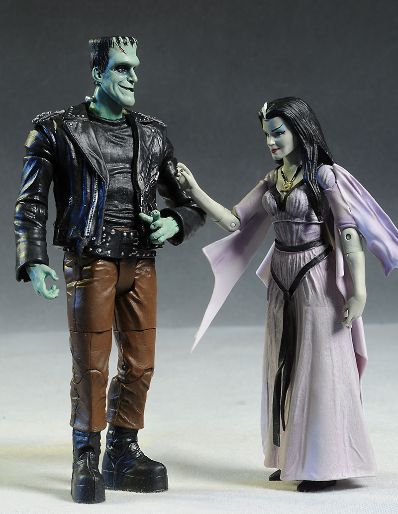 Hot Rod Munsters action figures by DST