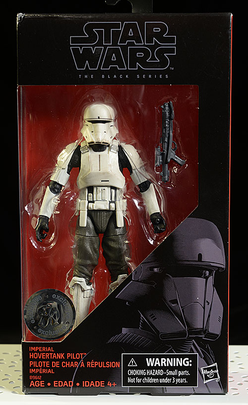 Hovertank Pilot Star Wars Black action figure by Hasbro