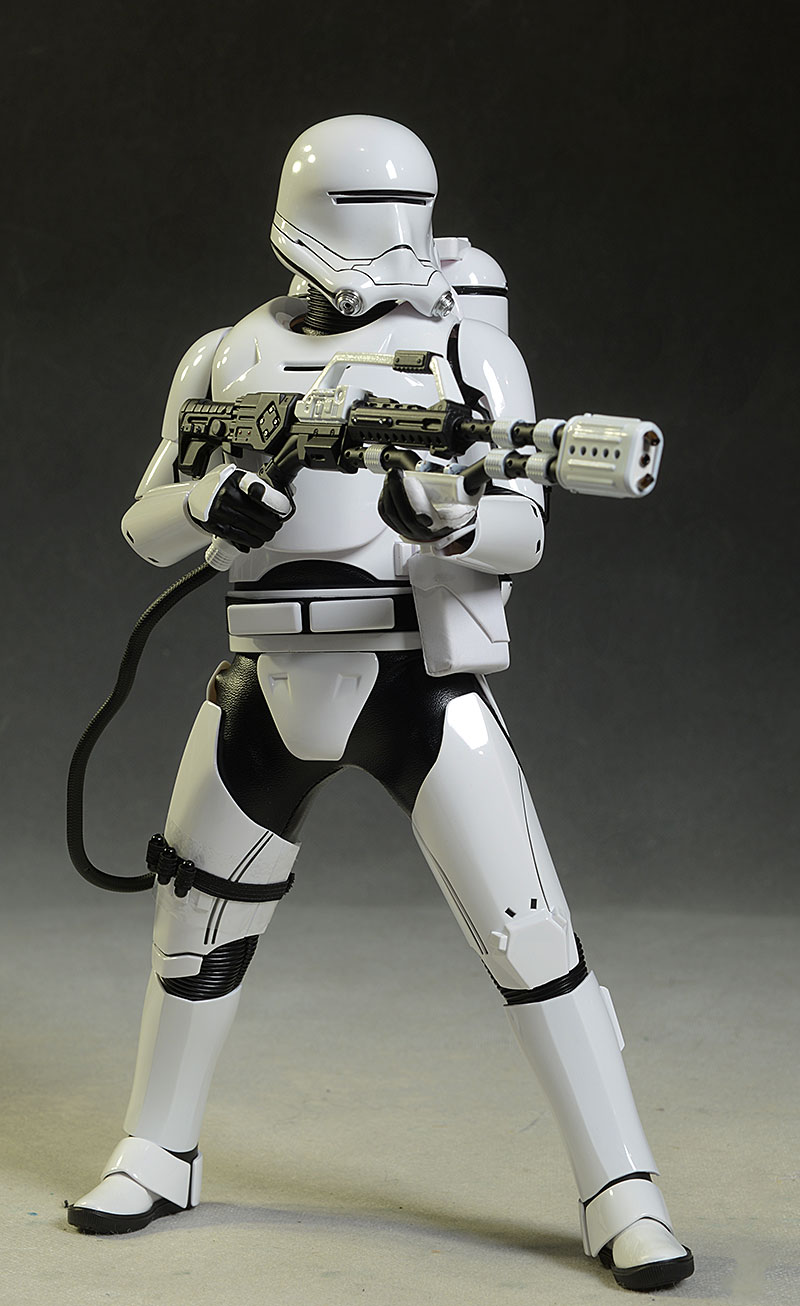 Star Wars Force Awakens Flametrooper action figure by Hot Toys