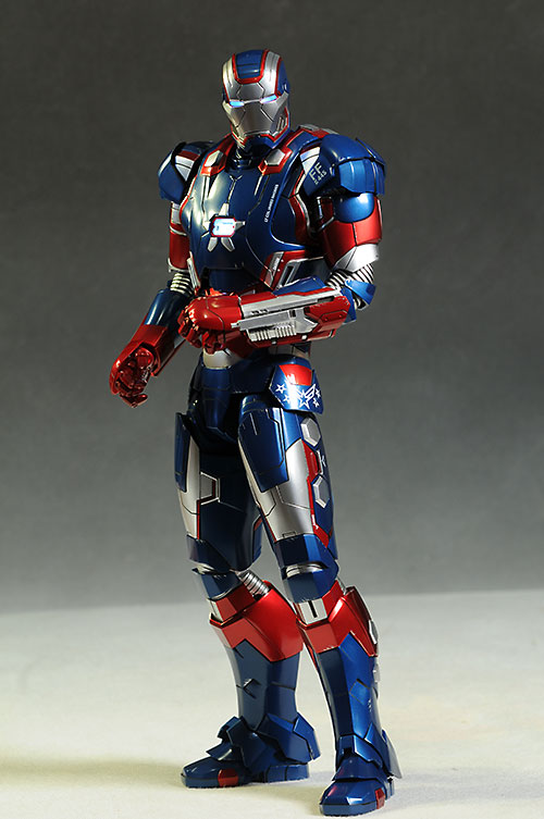 Iron Man Iron Patriot die-cast action figure by Hot Toys