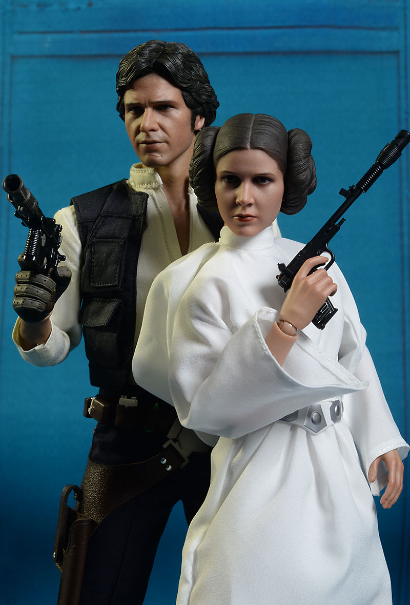 Star Wars Princess Leia sixth scale action figure by Hot TOys