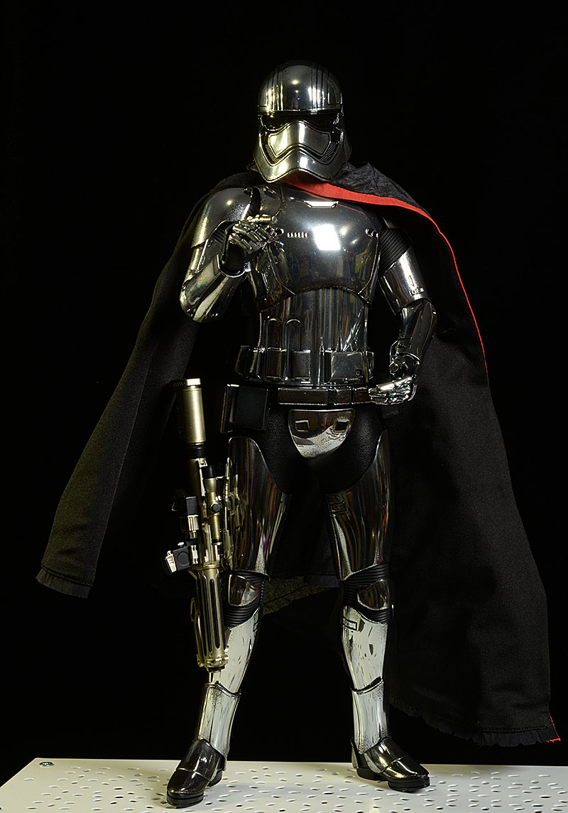Captain Phasma Star Wars sixth scale action figure by Hot Toys