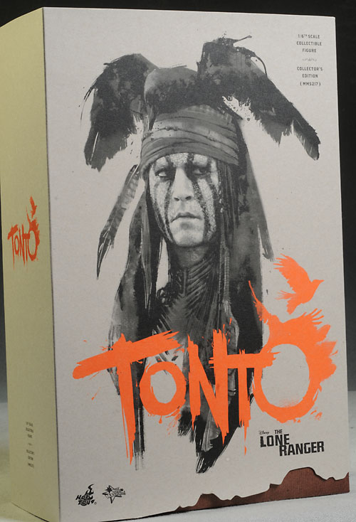 Lone Ranger Tonto sixth scale action figure by Hot Toys