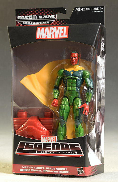 Marvel Legends Valkyrie, Vision, Blizzard figures by Hasbro