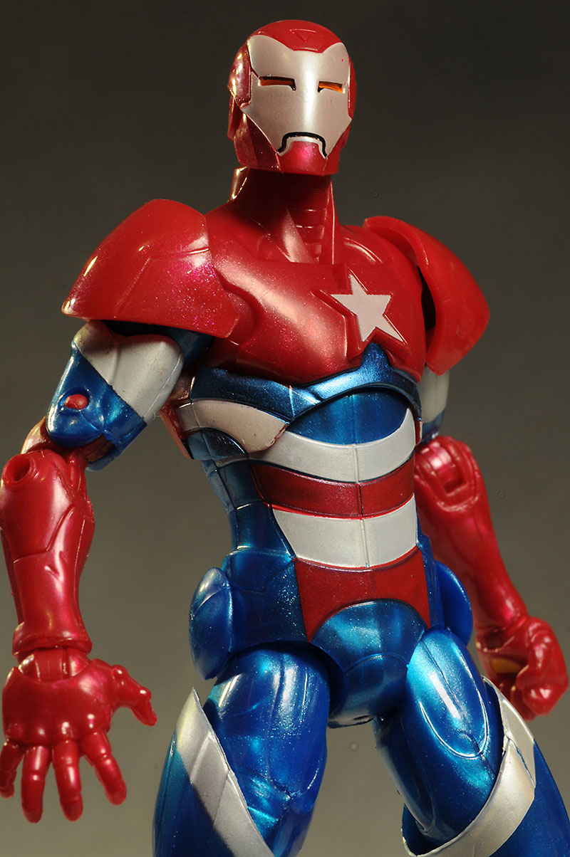 Iron Patriot Iron Man action figure Marvel Legends by Hasbro
