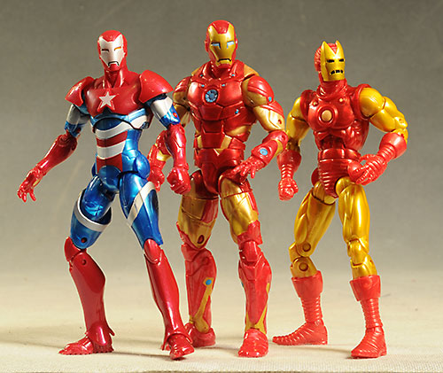 Iron Man Marvel Legends action figure by Hasbro