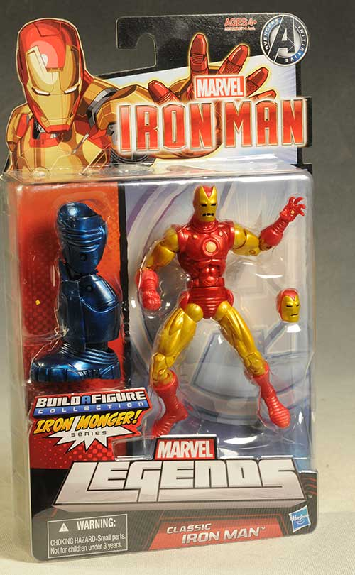 Marvel Legends Iron Man action figures by Hasbro