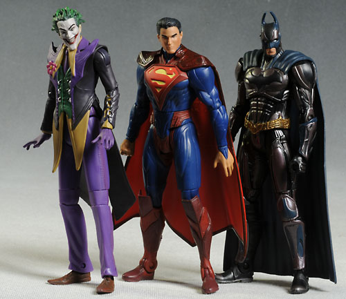 Injustice Joker and Superman action figure by Mattel