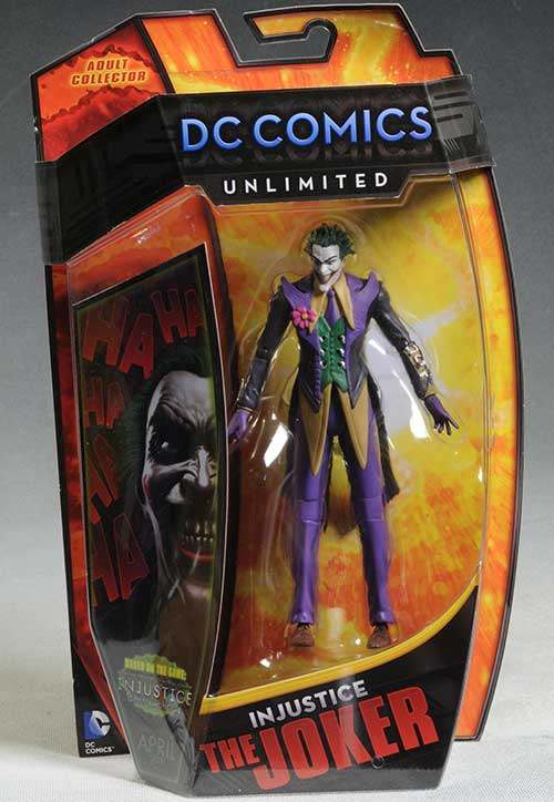 Injustice Joker action figure by Mattel