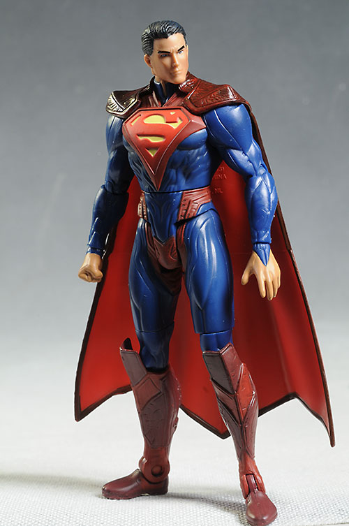 Injustice Superman, Joker action figures by Mattel