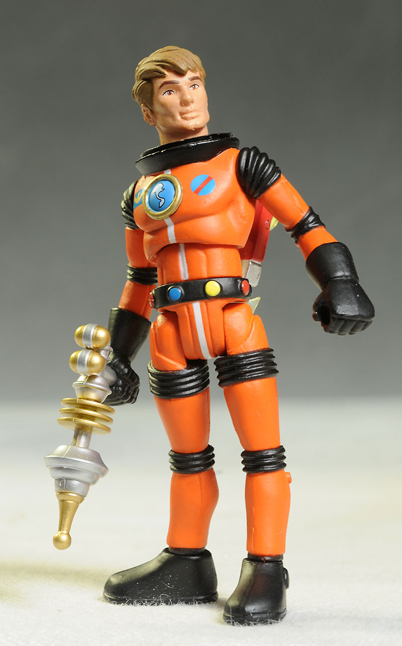 Outer Space Men action figures from the Four Horsemen