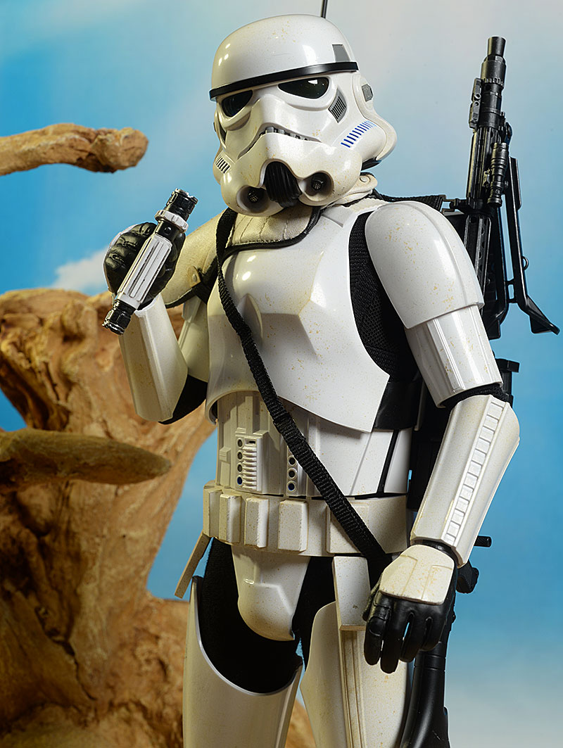 Star Wars Rogue One Jedha Patrol Stormtrooper sixth scale figure by Hot Toys