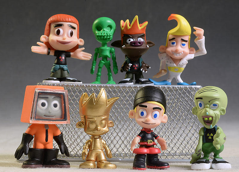 Johnny Test eollectible figures by Import Dragon