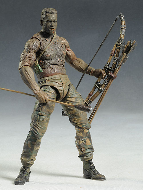 Jungle Disguise Dutch Predator action figure by NECA
