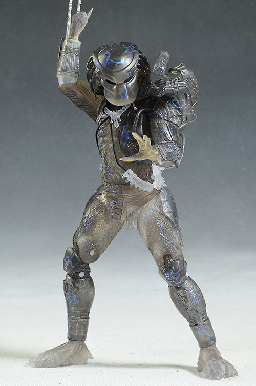 True Market Value >> Review and photos of Jungle Disquise Dutch, Water Emergence Predator figures by NECA
