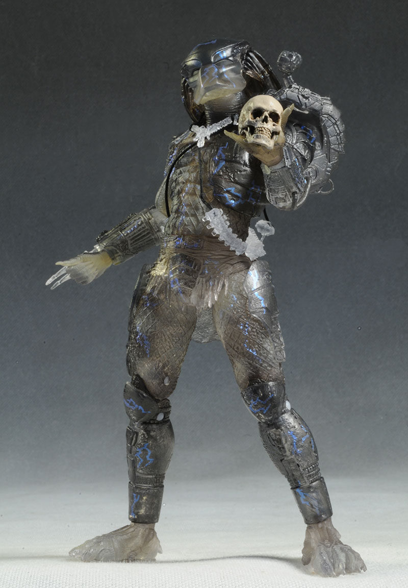 Jungle Disquise Dutch, Water Emergence Predator figures by NECA
