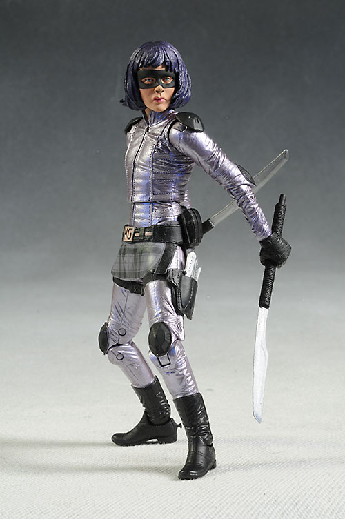 Kick-Ass, Hit-Girl action figures by NECA