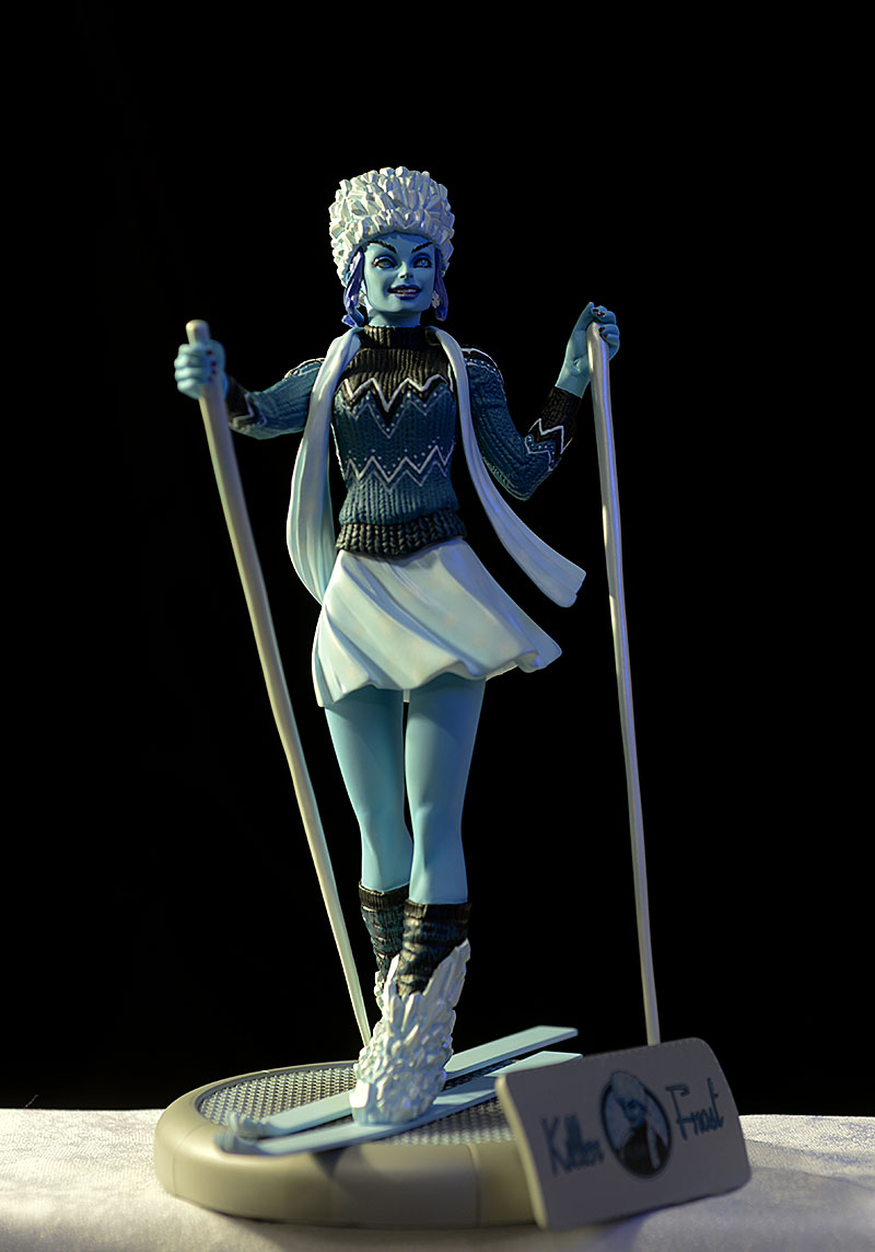DC Bombshells Killer Frost statue by DC Collectibles