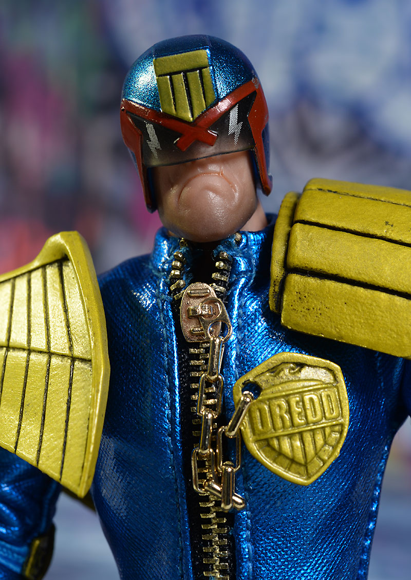 Judge Dredd Lawmaster action figure vehicle from Mezco Toyz