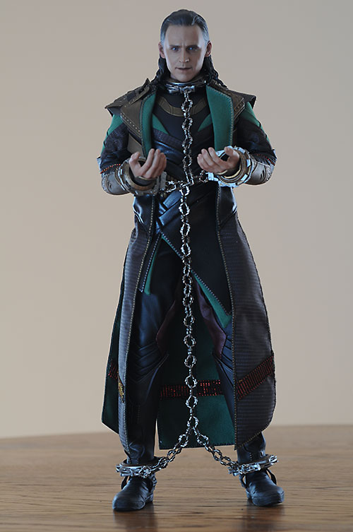 Loki sixth scale action figure by Hot Toys