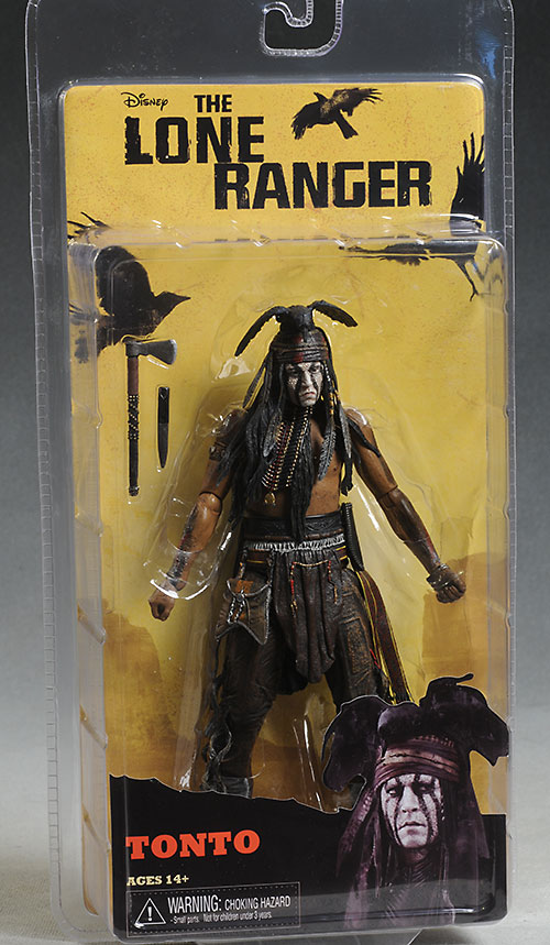 Lone Ranger, Tonto action figures by NECA