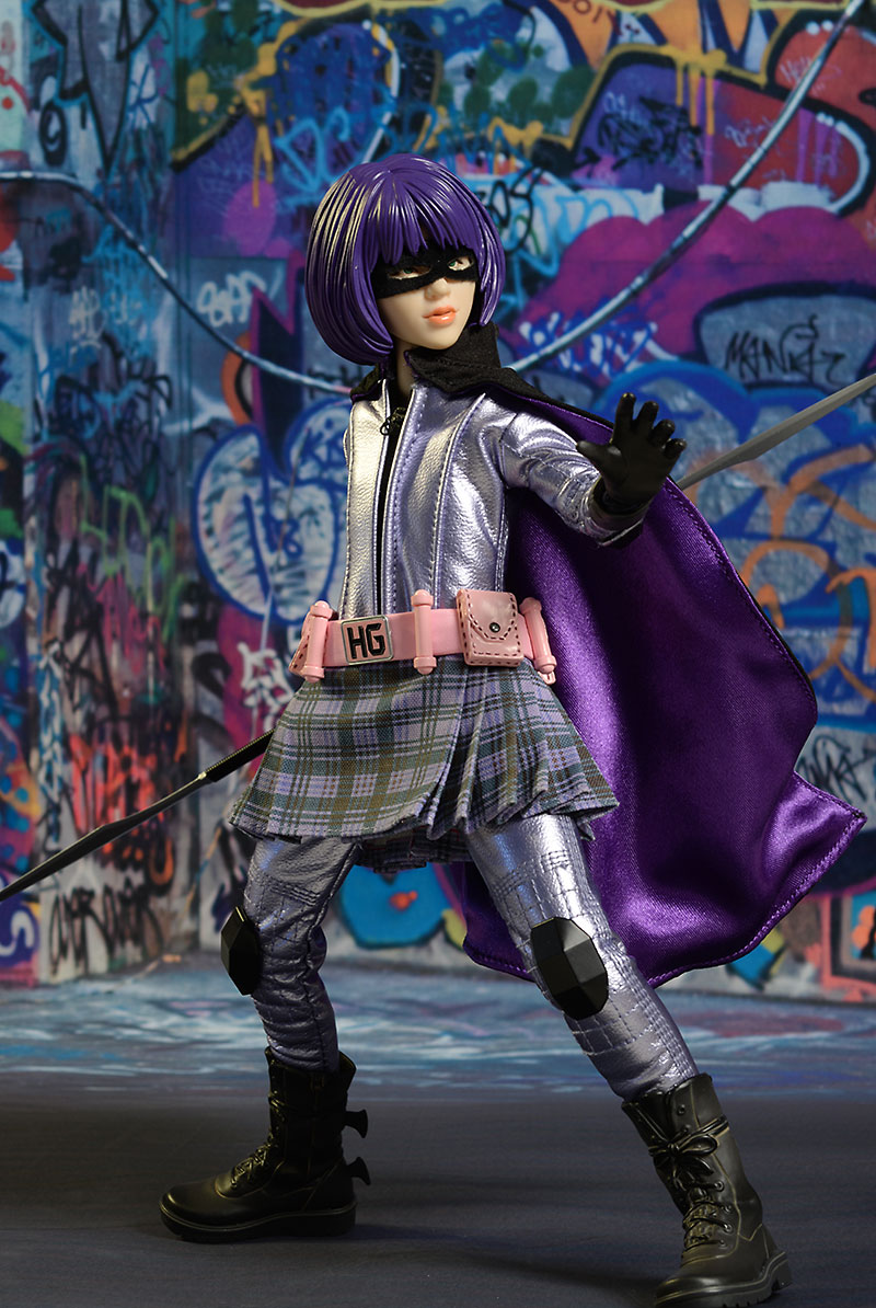 Hit girl kick ass pity, that