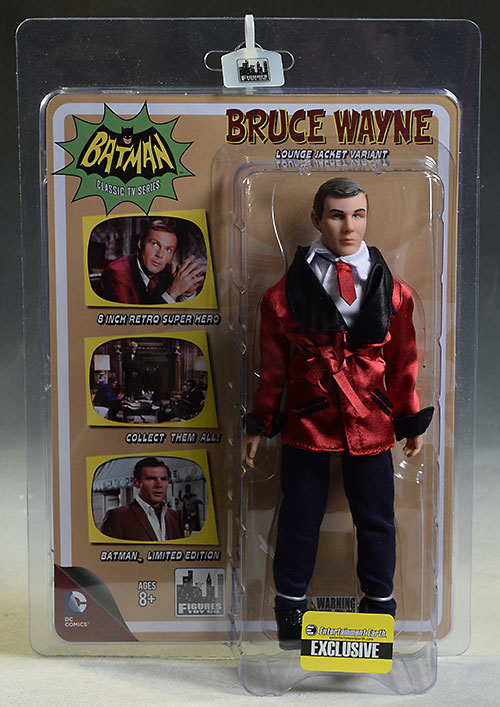 Bruce Wayne, Joker, Alfred retro action figure by Figures Toy