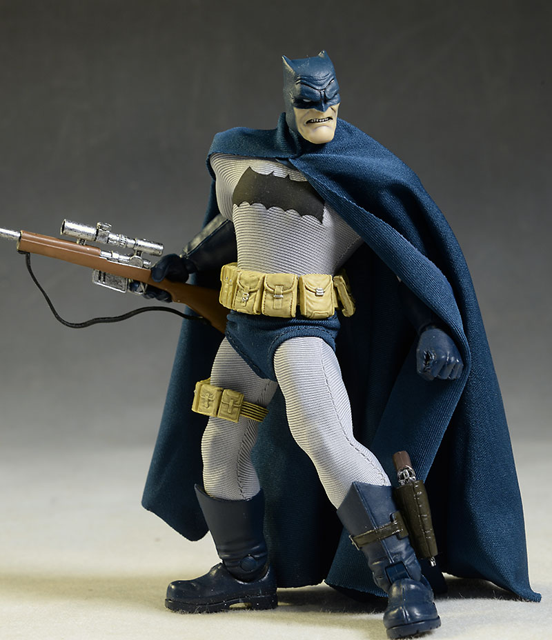 Dark Knight Returns Batman Action Figure by Mezco