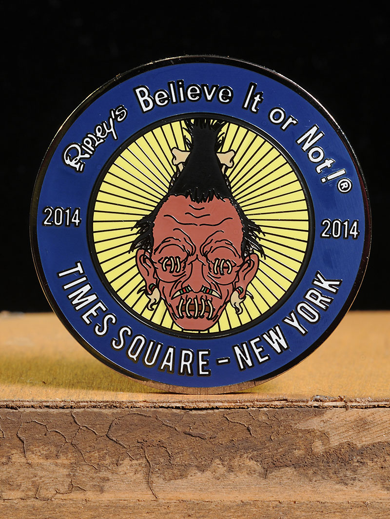 Ripley's Believe It or Not Treasure Hunt Coins by Mezco
