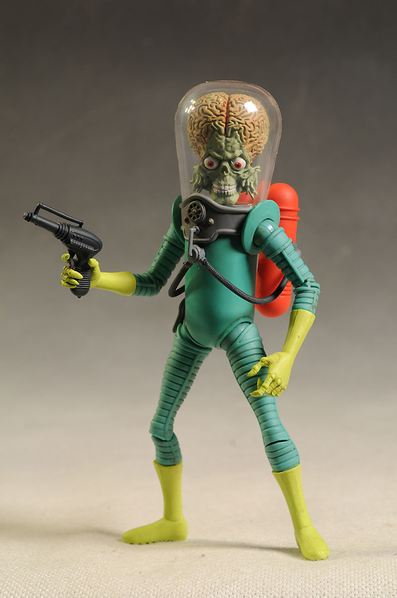 Mars Attacks Martian action figure by Mezco