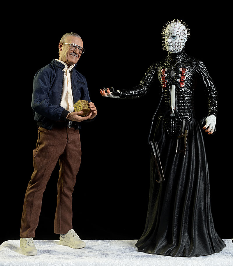 Helraiser Pinhead action figure by Mezco