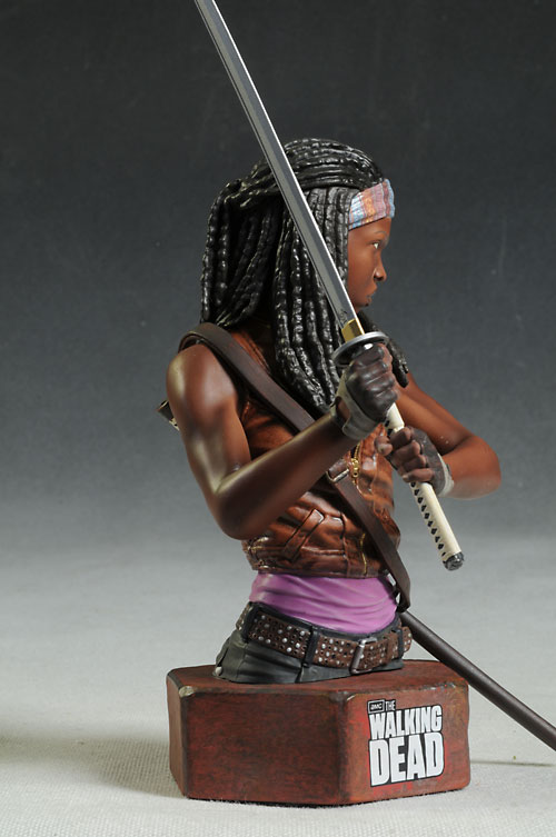 Walking Dead Michonne mini-bust by Gentle Giant