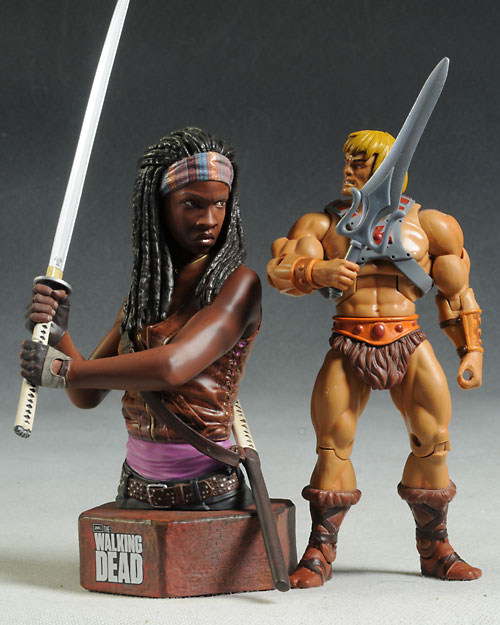 Michonne bust Walking Dead by Gentle Giant