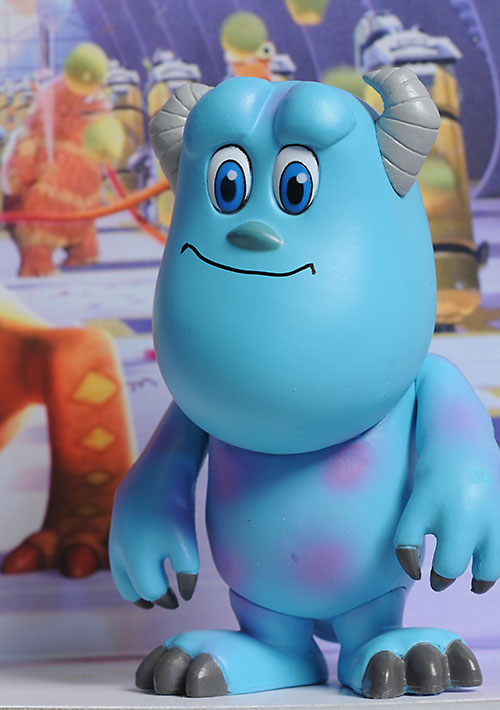 Monsters Inc. mini cosbaby action figures by Hot Toys