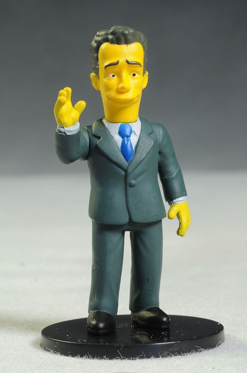 Tom Hanks Simpsons PVC mini action figures by NECA
