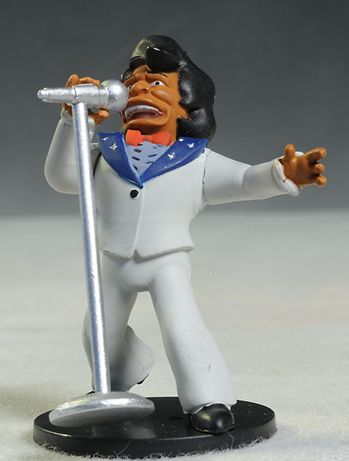 James Brown Simpsons PVC mini action figures by NECA