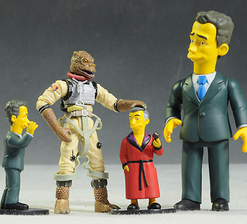 Simpsons PVC mini action figures by NECA