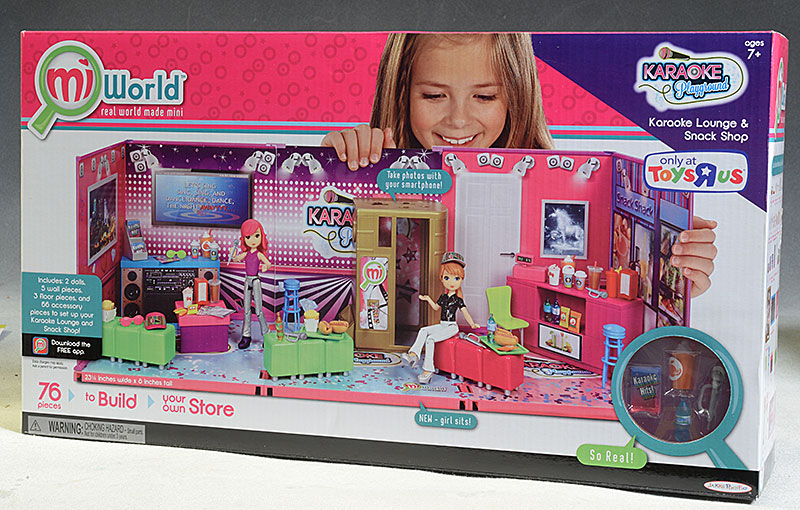 Mi World Karaoke Playground Playset Diorama by Jakks