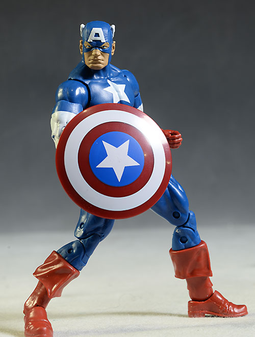 Marvel Legends Captain America action figure by Hasbro