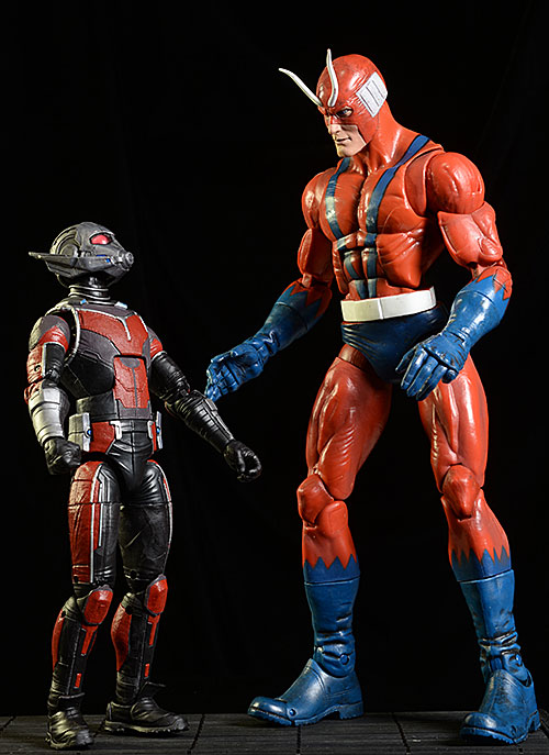 Marvel Legends Giant Man action figures by Hasbro