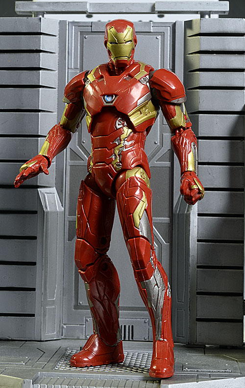 Marvel Legends Iron Man MK46 action figures by Hasbro