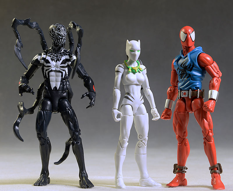 White Tiger, Scarlet Spider, Superior Venom Marvel Legends figure by Hasbro
