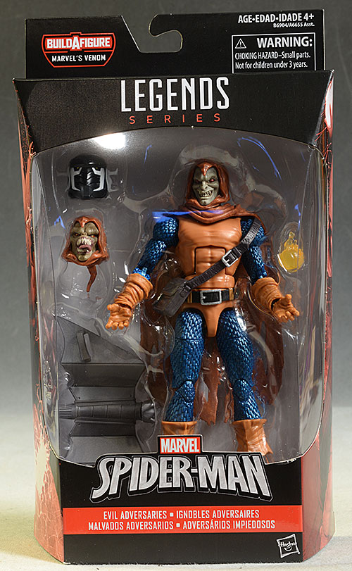 Marvel Legends Hobgoblin, Spider-Girl, Spider-Man action figures by Hasbro