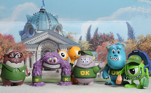 Monsters University Cosbaby figures by Hot Toys