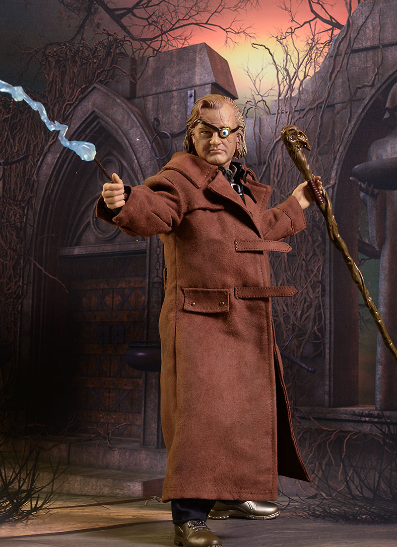 Harry Potter Mad Eye Moody action figure by Star Ace