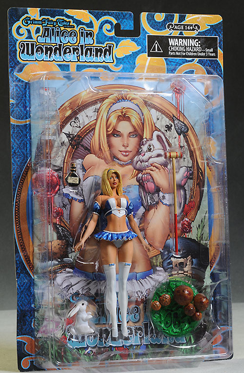 Alice Liddle Wonderland action figure by Moore