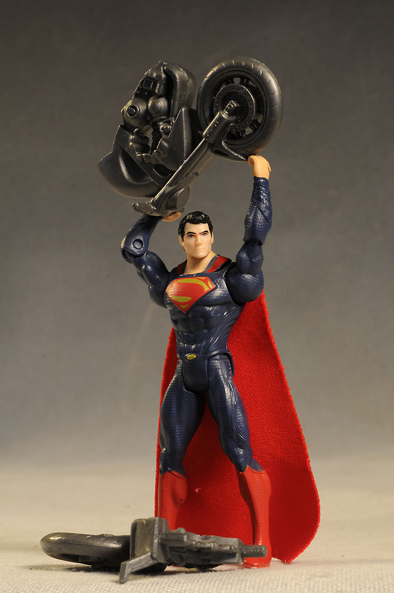 Man of Steel Split Cycle Superman action figure by Mattel